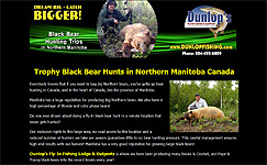 Black Bear Hunts Manitoba