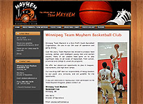 Winnipeg Team Mayhem Basketball Club